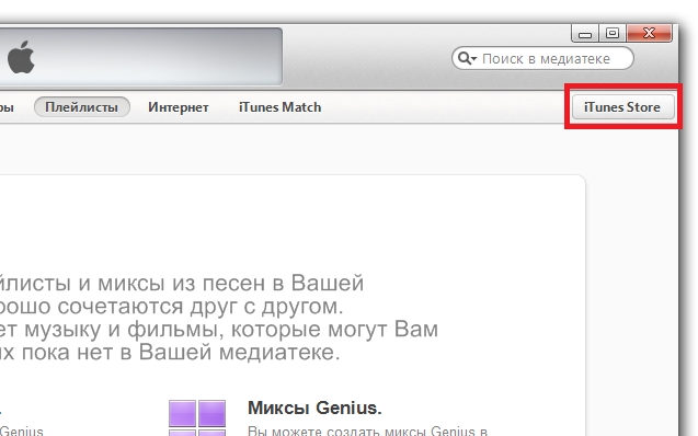Установка приложений из App Store на устройство