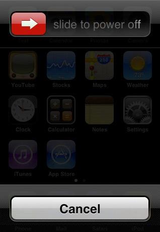Закрытие зависших приложений iOS