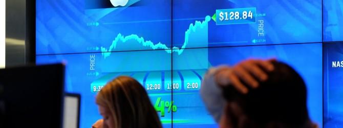 Акции компании Apple снова достигли годового максимума