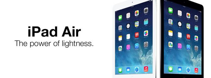 Apple iPad Air - лучший планшет в мире