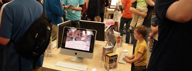Apple проводит семинары для детей