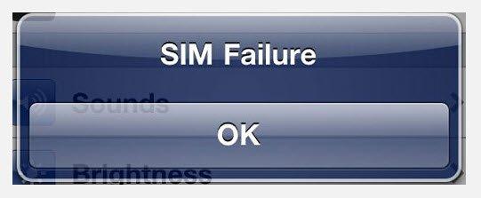 Что делать, если iPhone не видит sim-карту?