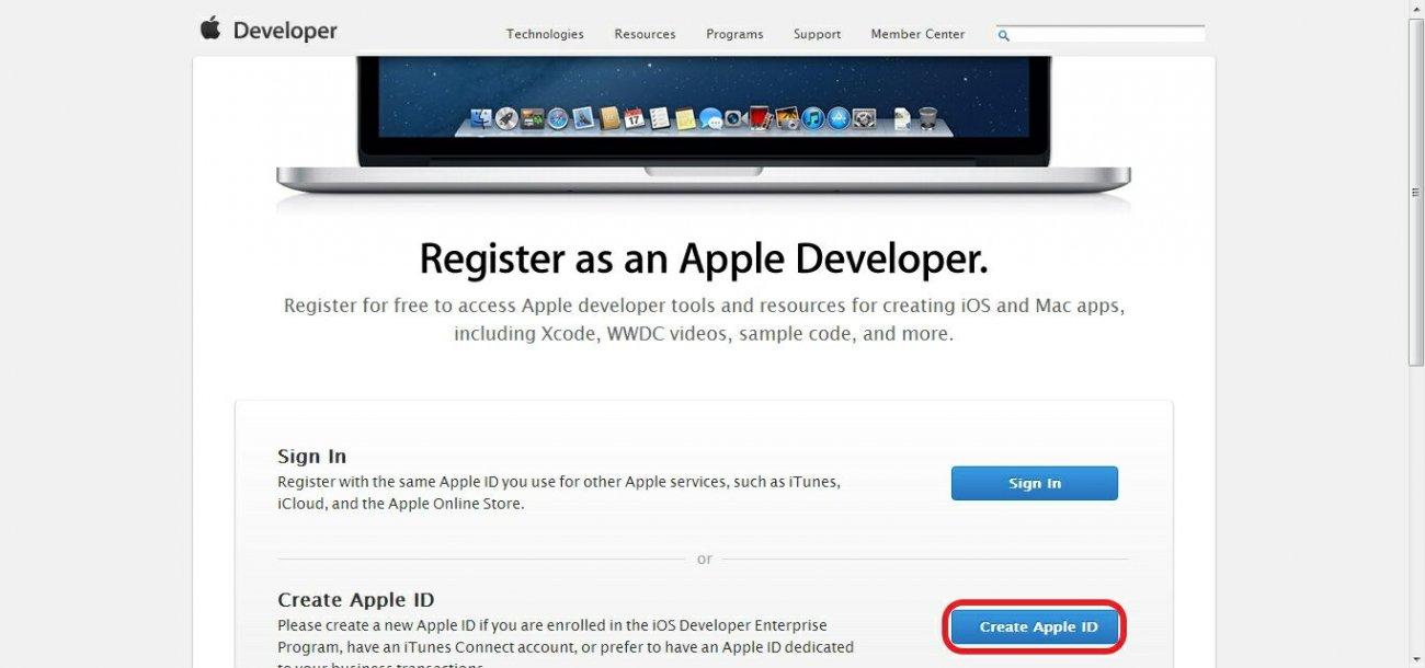 Как сделать себе аккаунт разработчика 440