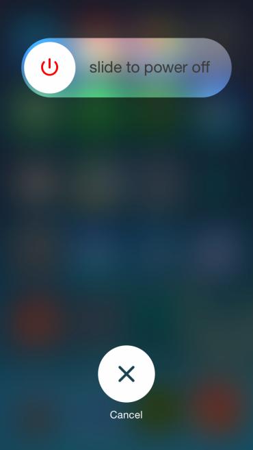 Как перезагрузить iPhone?