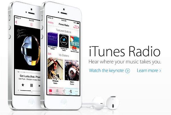 iTunes Radio – как включить в России?