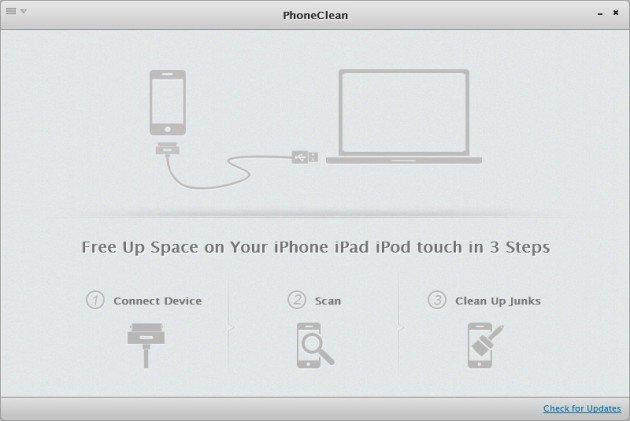 Как очистить iPhone – программа PhoneClean