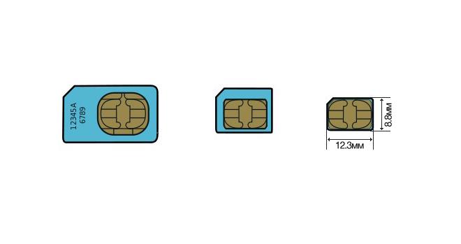 Как Nano-SIM сделать самому - Как обрезать сим карту для iPhone?