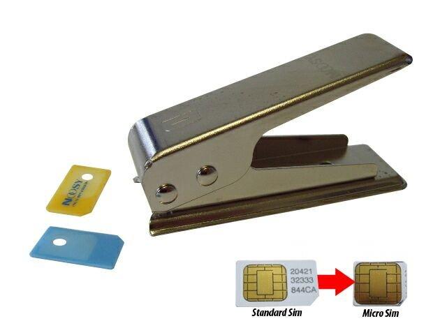 Как Micro-SIM сделать самому. Как обрезать сим-карту.