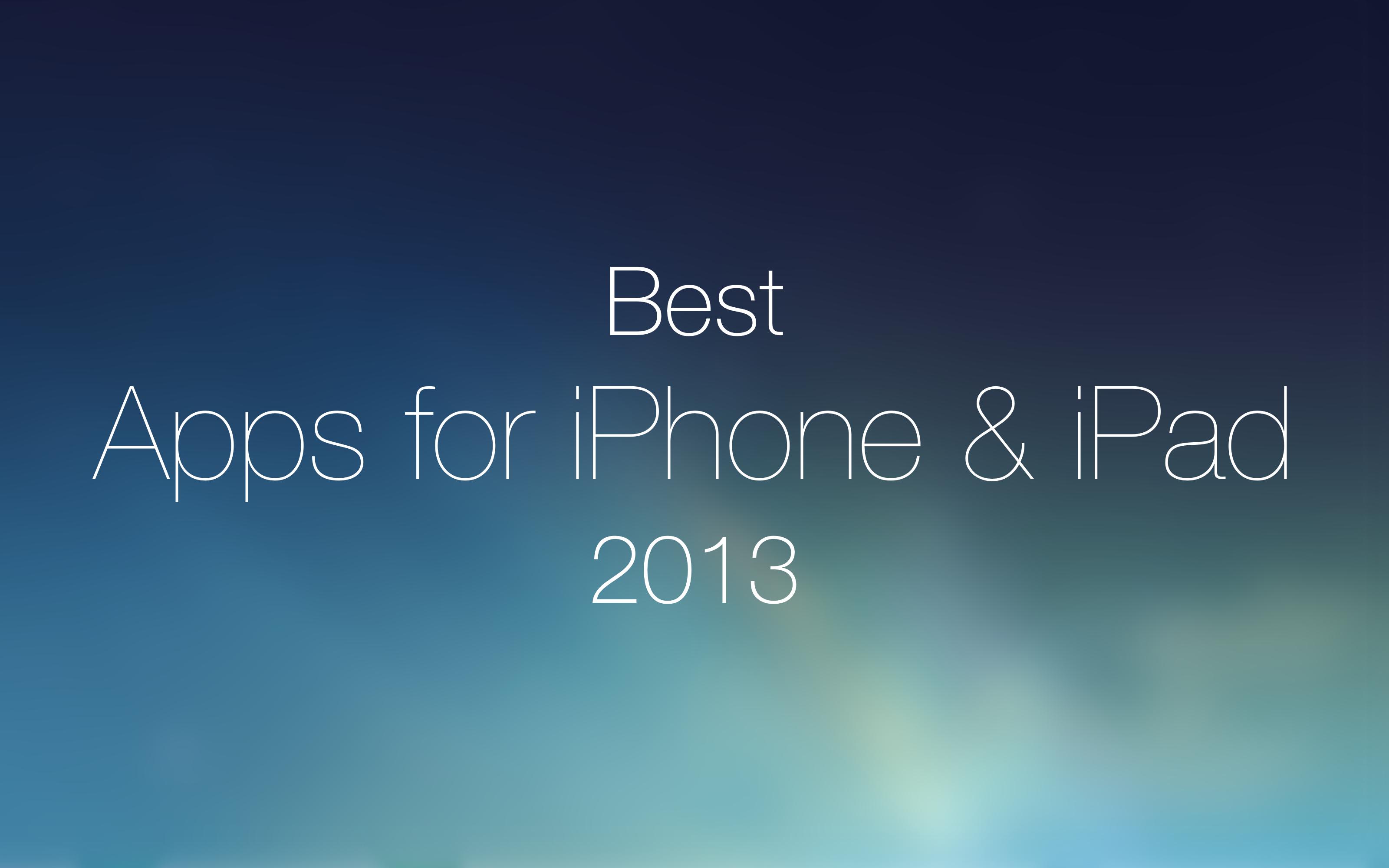 Лучшие приложения для iPhone 2013 года