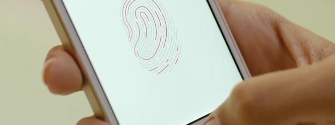 Отпечатки пальцев на iphone