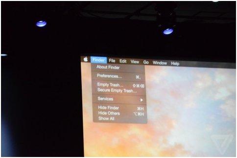 Конференция WWDC 2014 представляет Apple OS X 10.10 Yosemite