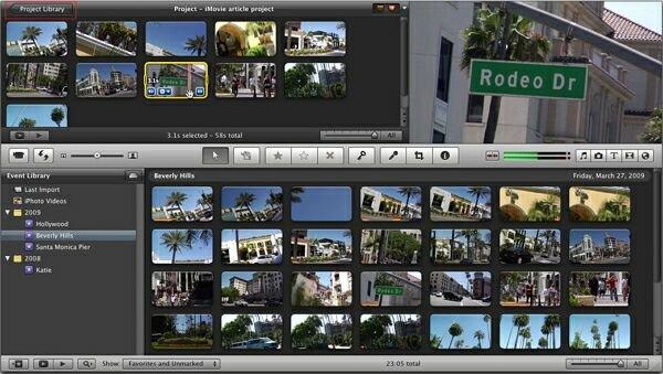 Как обработать видео на макбуке?
