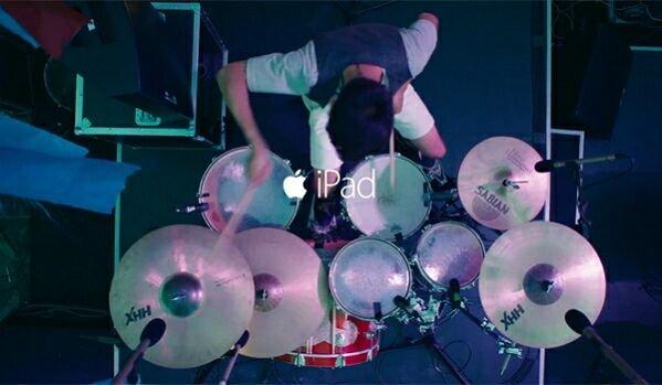 Новая реклама iPad покажет жизнь китайских музыкантов