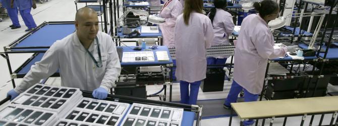 Где и как производятся iPhone