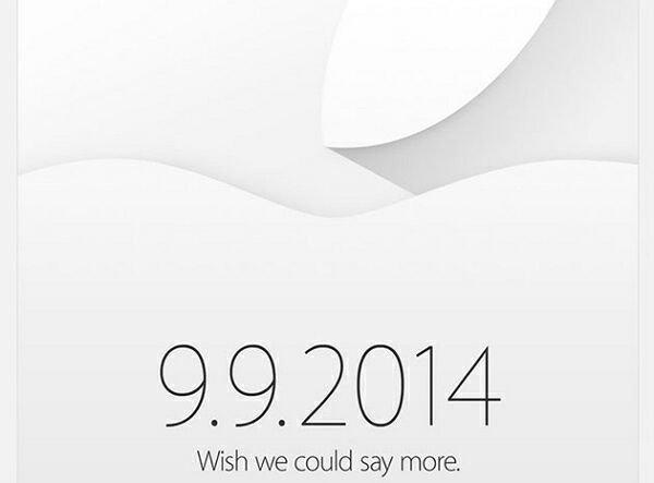 Приглашения от Apple: скоро состоится дебют iPhone 6