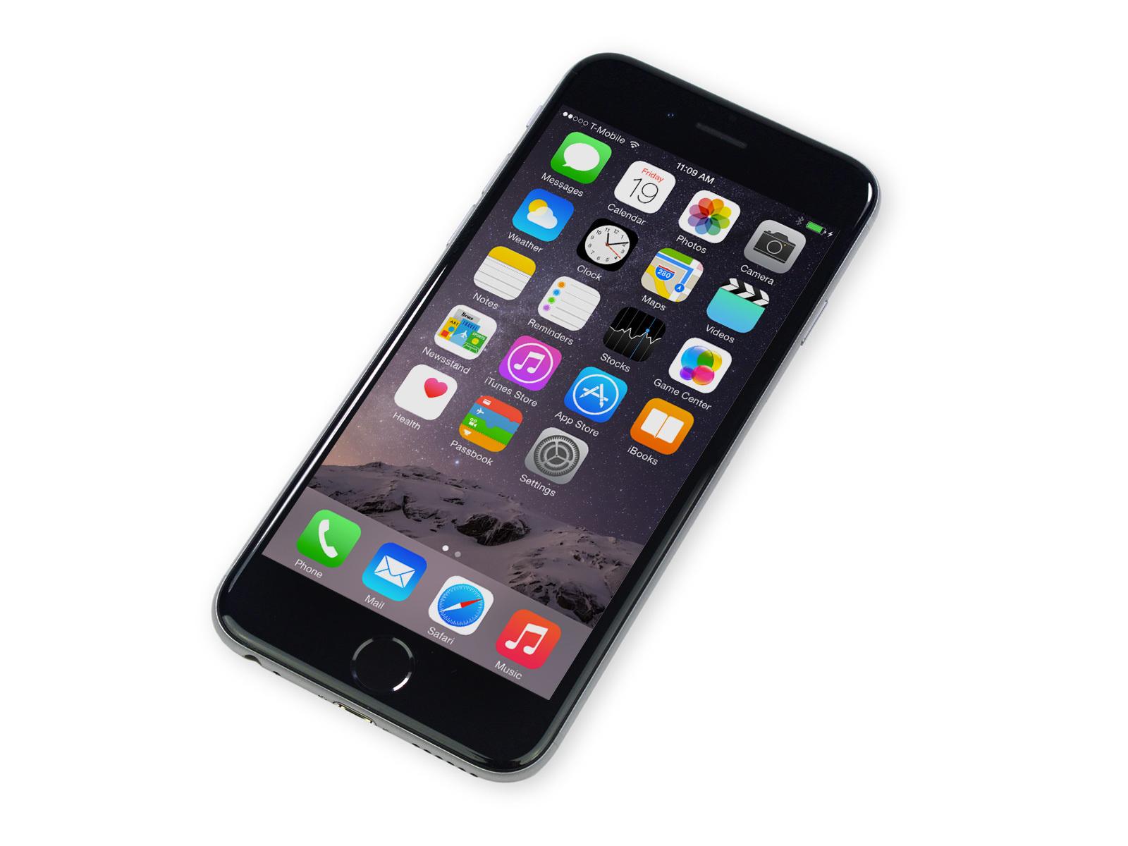 Новый iPhone 6 с диагональю 5,5 дюймов получит дисплей Super Retina 461 ppi