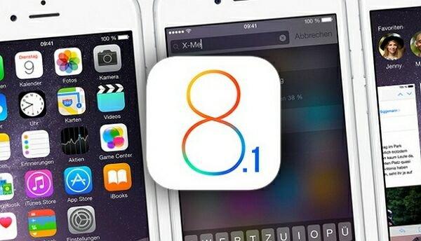 iOS 8.1 уже доступно для iPhone, iPad и iPod Touch
