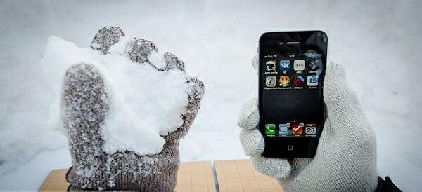 Как помочь «яблочным» гаджетам пережить суровую зиму?