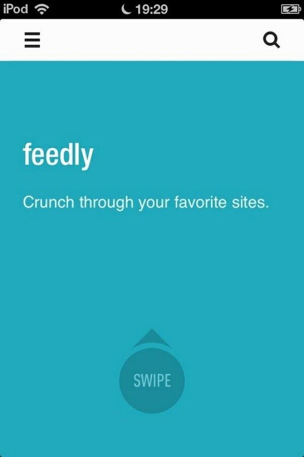Обзор приложения Feedly