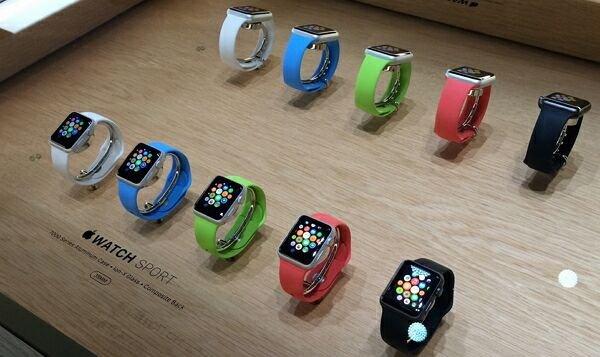 О продажах «яблочных» часов
