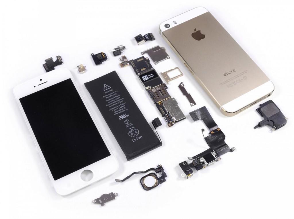 Как самостоятельно разобрать iPhone 5 и 5s