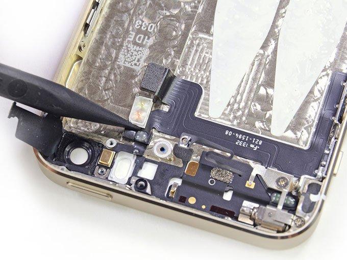 Оставшиеся детали на верхней части корпуса