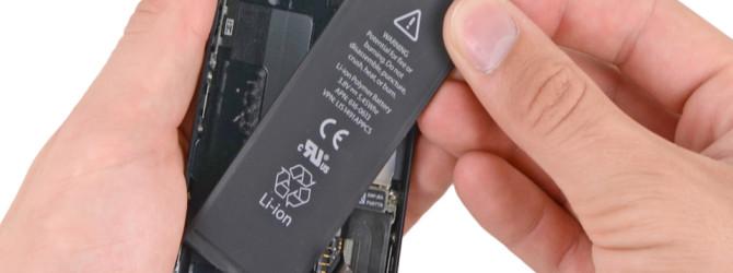 Стартовала программа замены аккумуляторов iPhone 5