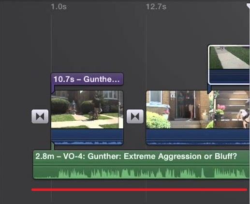 Пример добавление аудио файла в iMovie