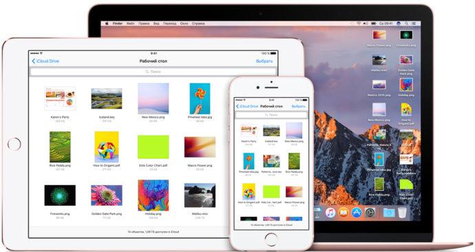 Доступность фото и видео со всех гаджетов в iCloud Drive