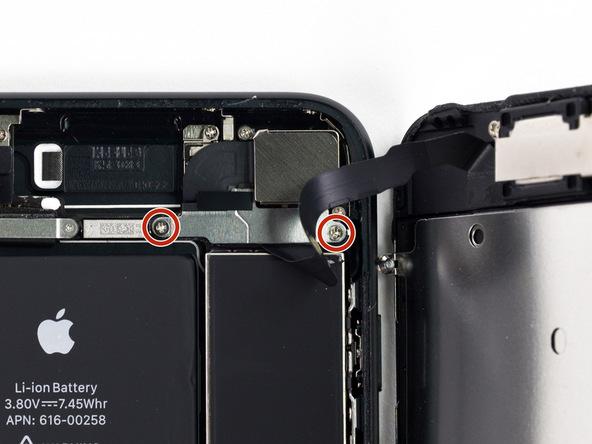 Крышка коннекторов на верхнем шлейфе устройства