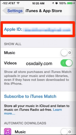 Аккаунт Apple ID