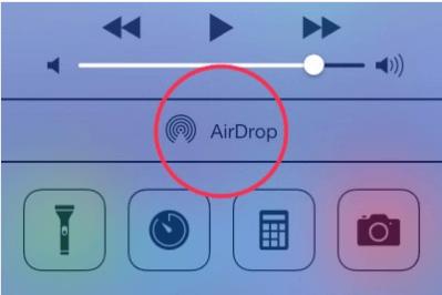 Панель быстрого доступа на IPhone