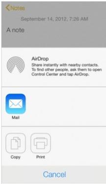 Передаем файл через AirDrop