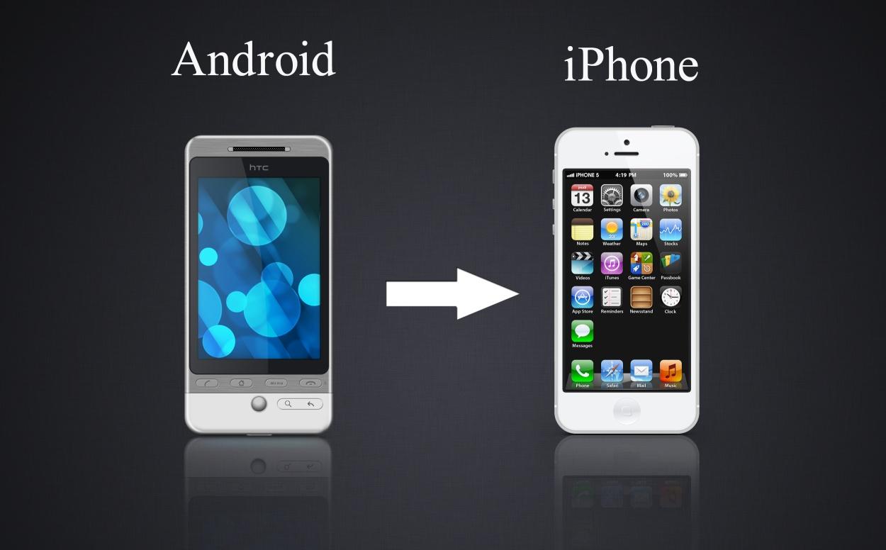 перенос контактов с айфона