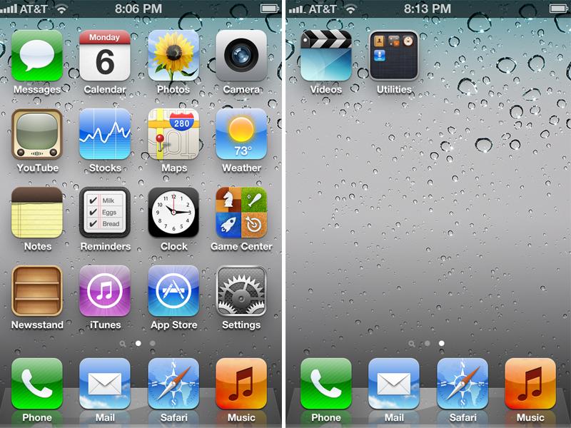 Откат на прошивку iOS 5.0.1