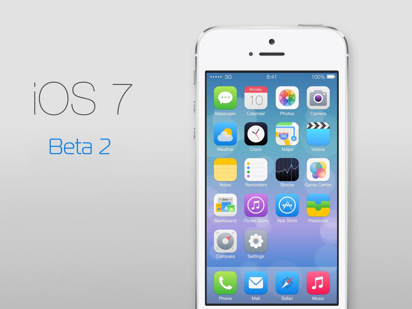Как установить прошивку iOS Beta