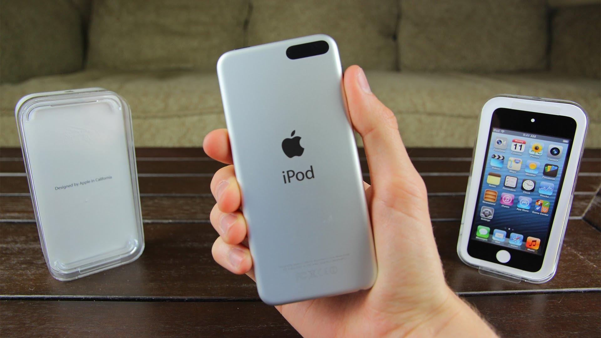 Новый бюджетный iPod touch 5G 16GB