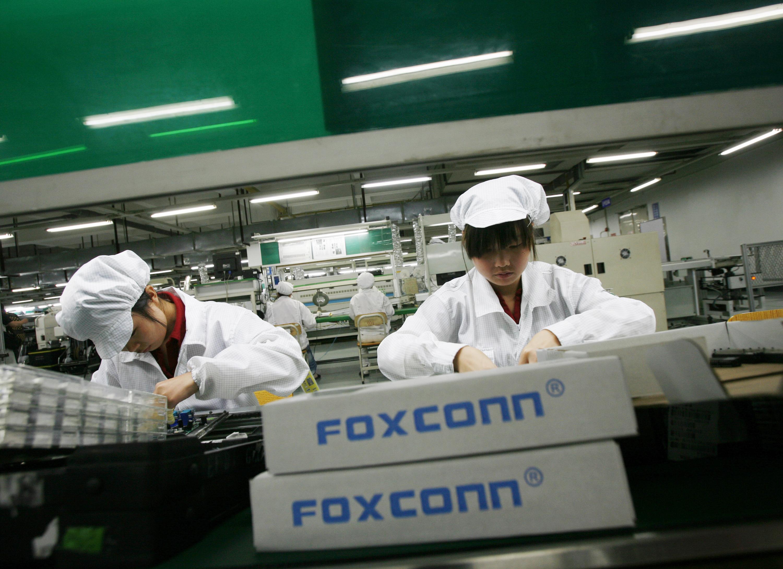 Foxconn ежедневно выпускает полмиллиона iPhone 5s