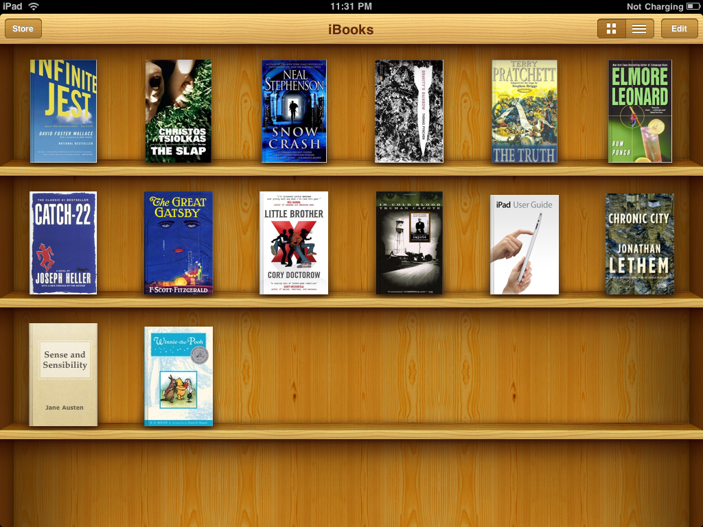 Apple разрешила дарить iBookstore книги
