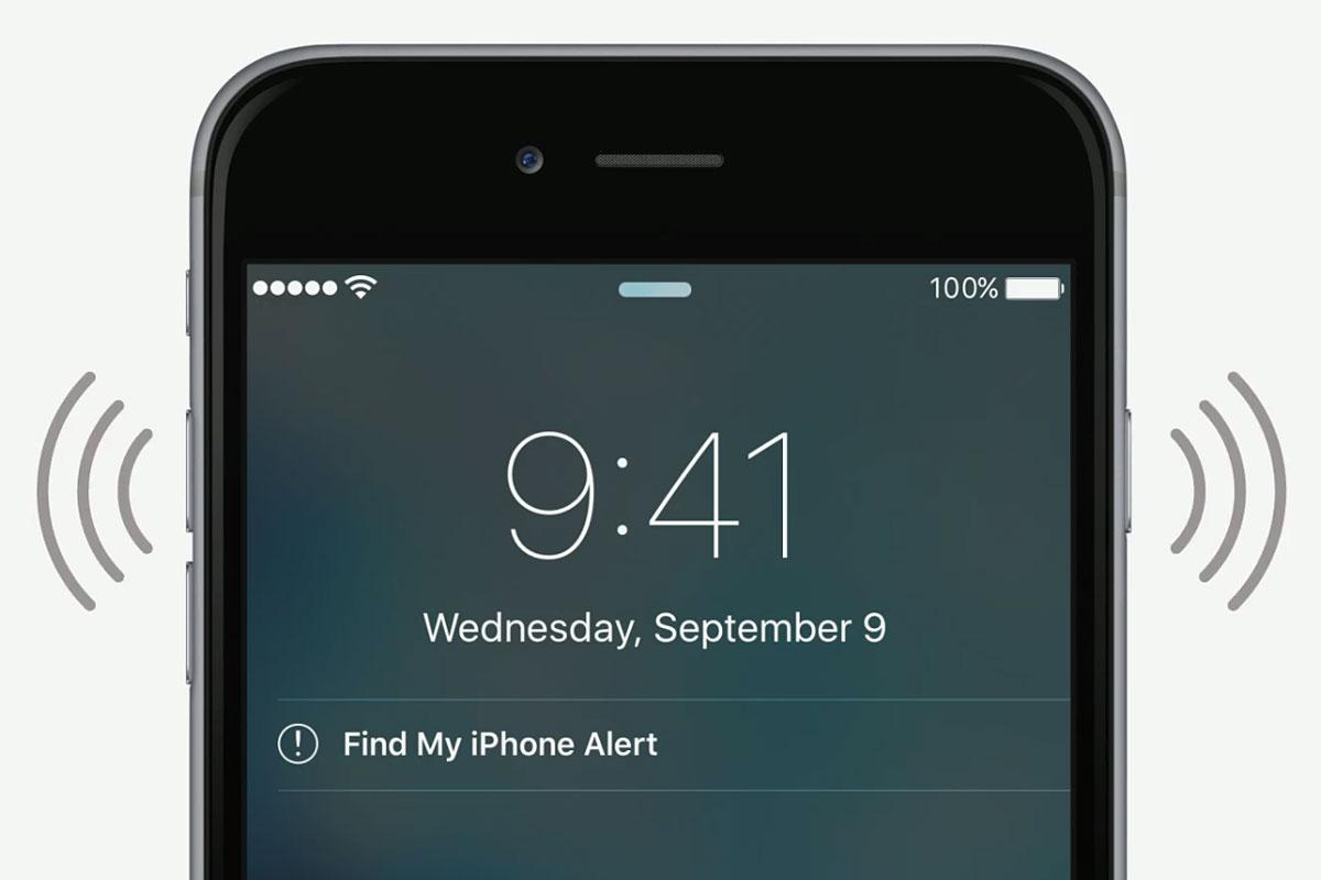 Как отключить звук на айФон?