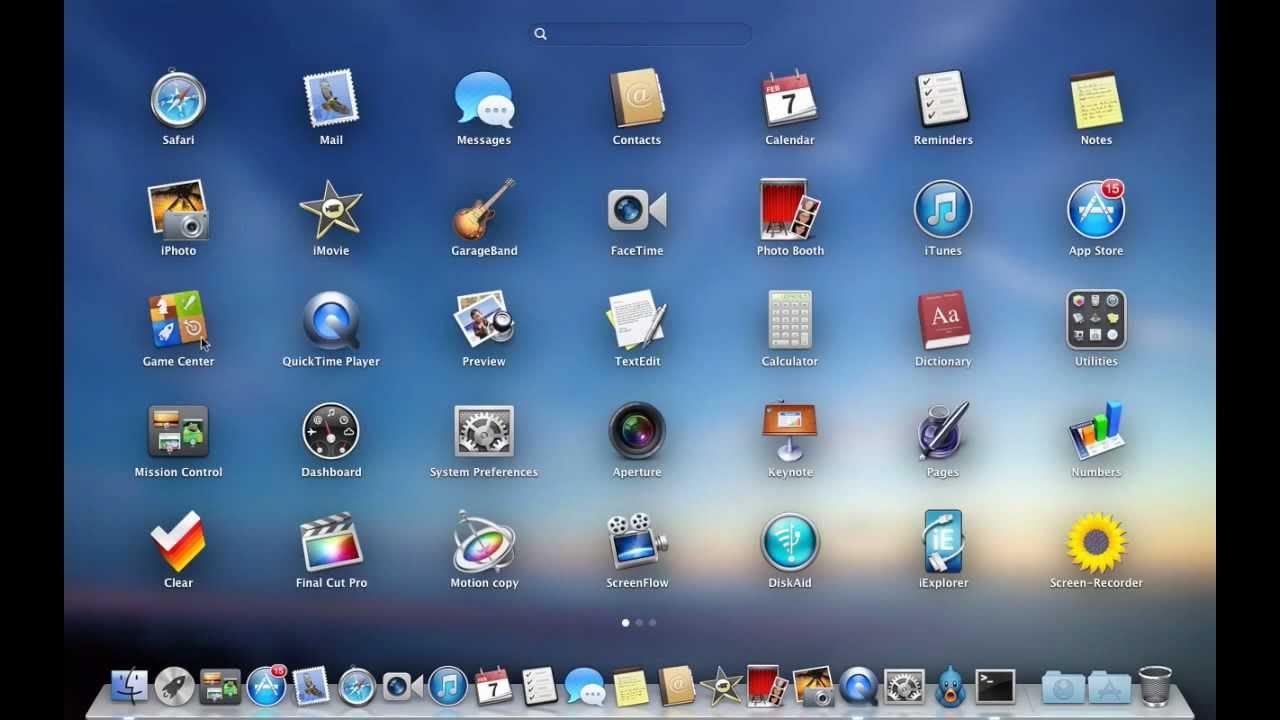 Как удалить программу с OS Mac