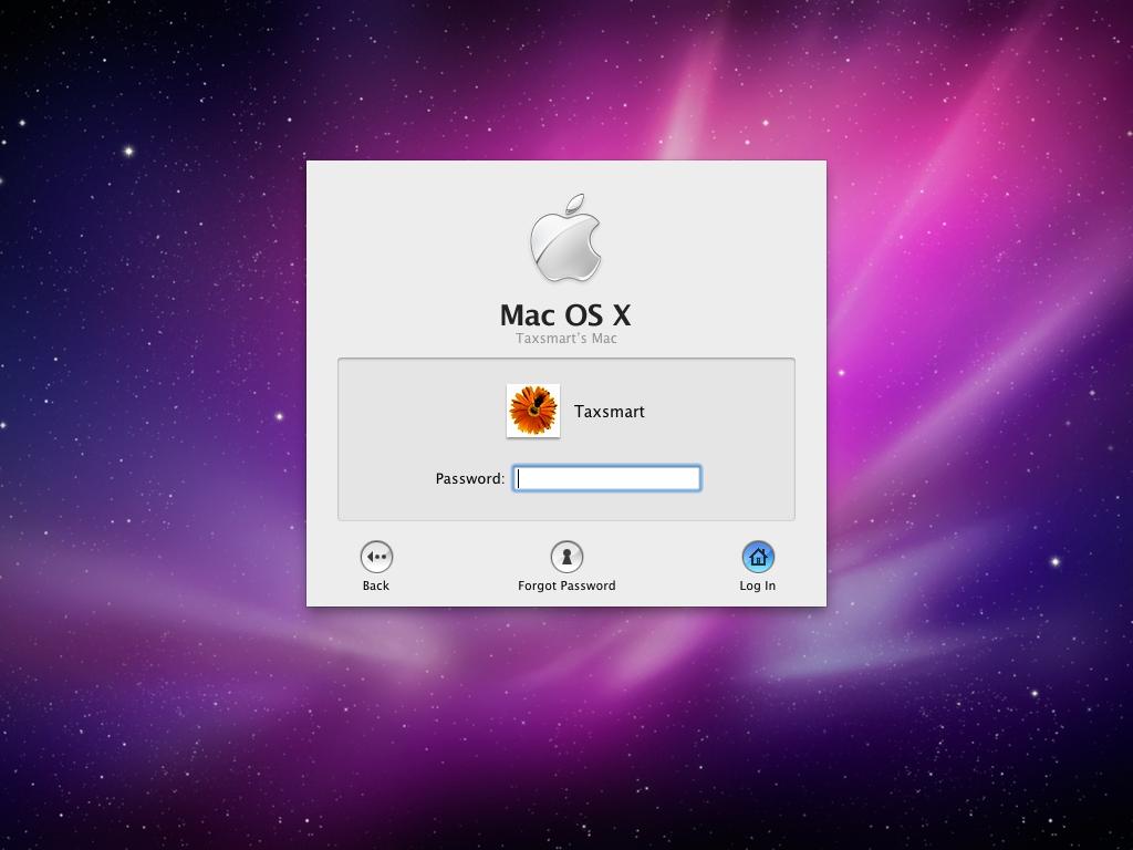 Как поставить пароль на Mac OS?