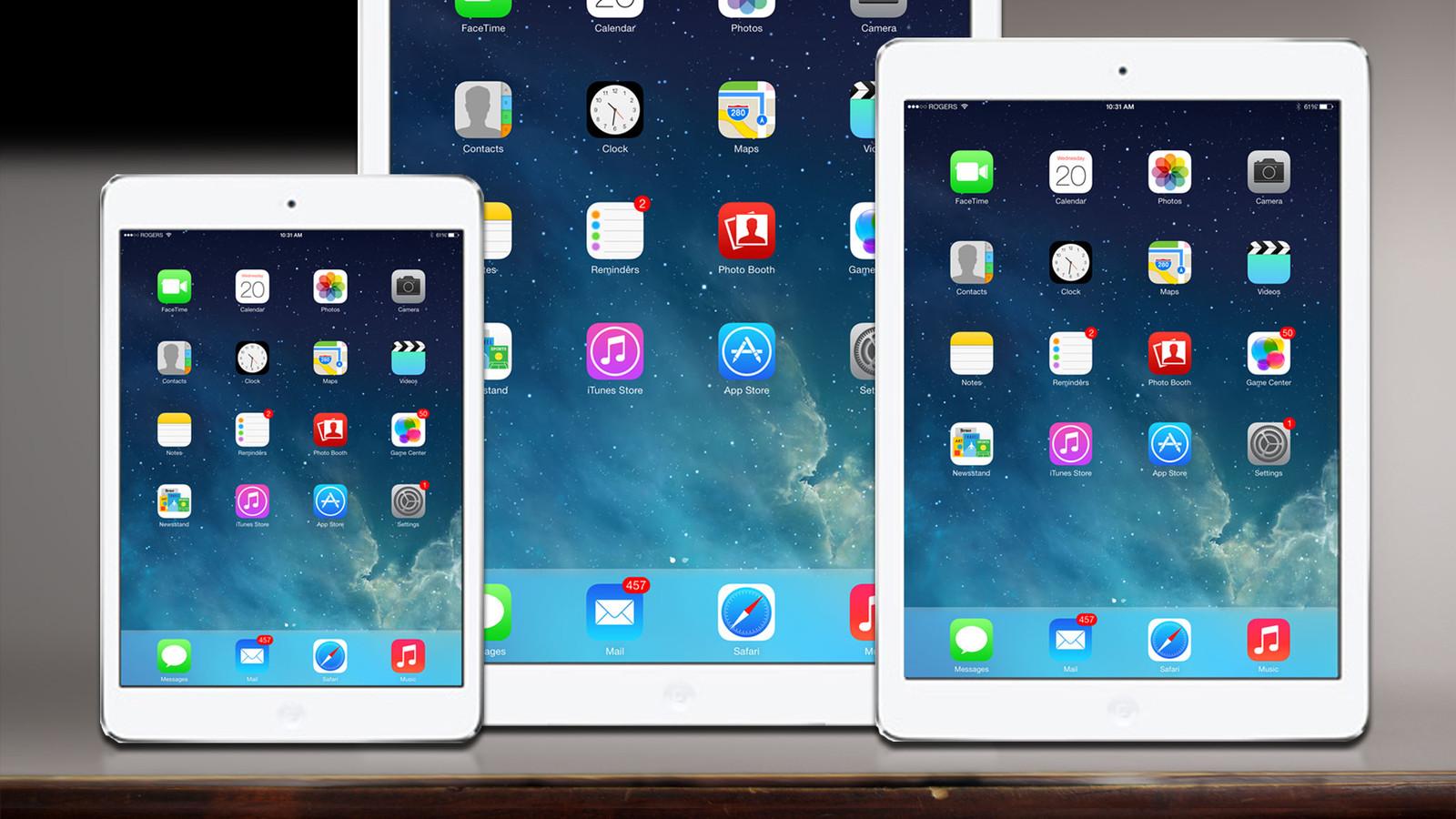 В России падают продажи планшетов Apple