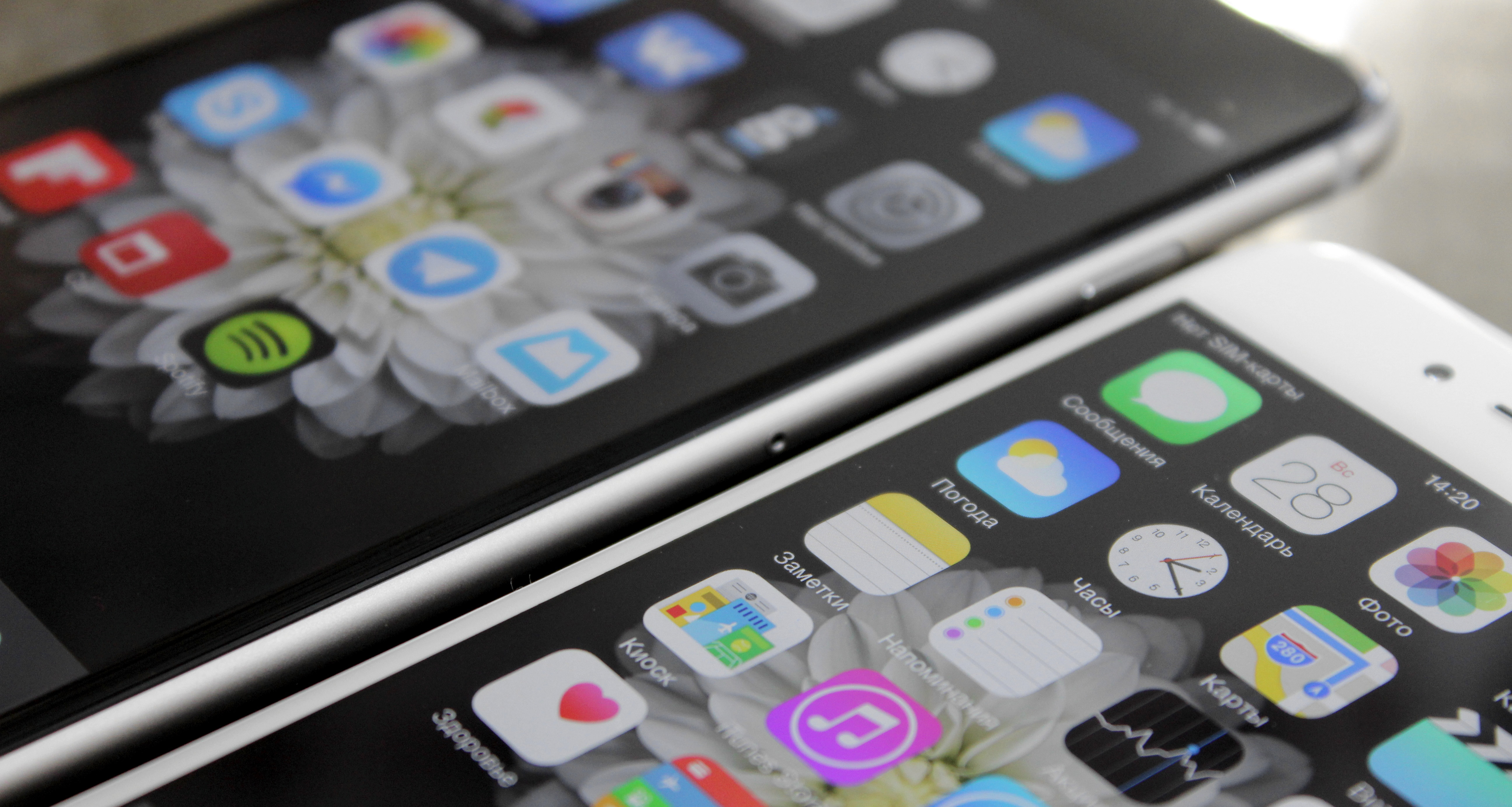 DisplayMate протестировала iPhone 6 Plus и iPhone 6 и осталась довольна