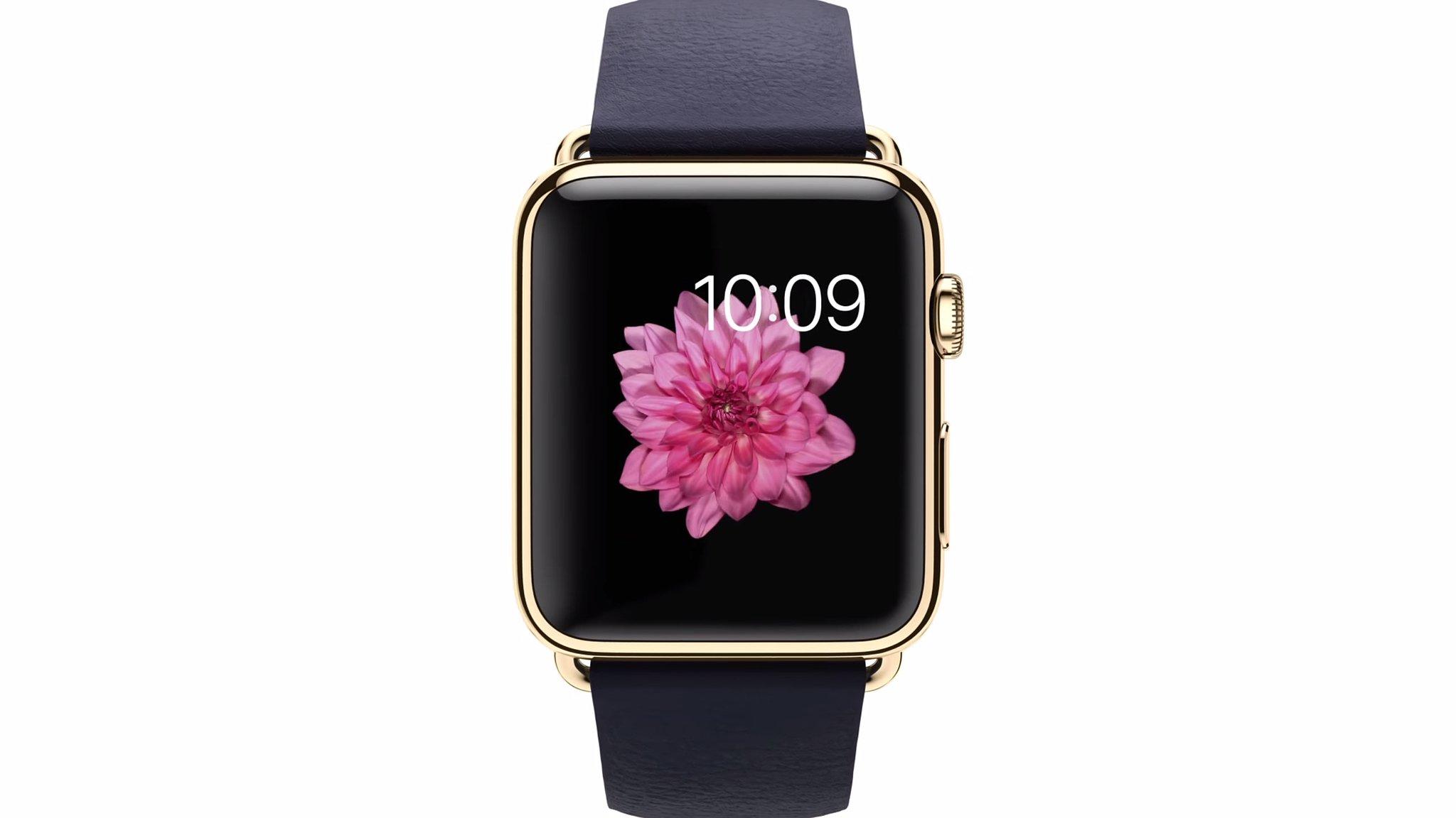 Стали известны характеристики экрана и стоимость Apple Watch