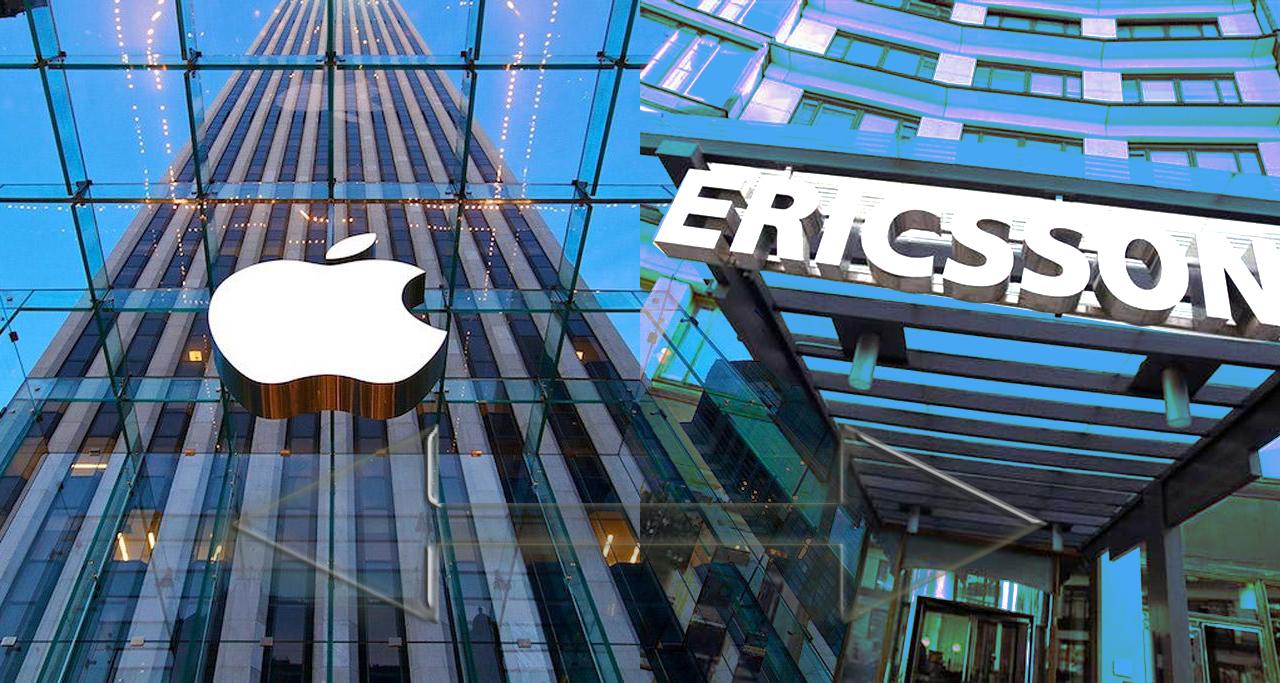 Ericsson опять затевает судебную тяжбу с Apple
